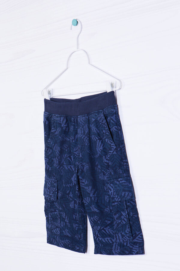 Cotton Bermuda shorts with print   OVS