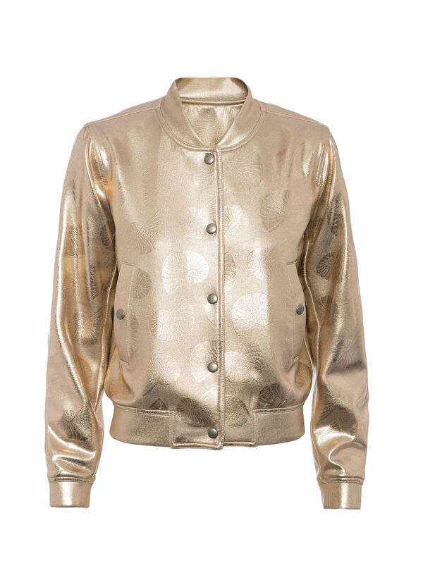 OVS Arts of Italy gold-coated bomber jacket | OVS