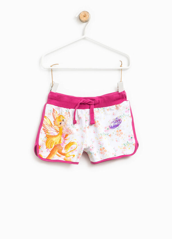 Shorts in cotone floreale stampa Winx | OVS