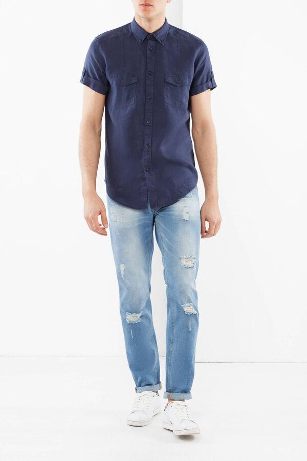 Linen button down shirt | OVS