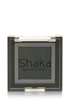 Compact eyeshadow with metal effect, Grey, hi-res