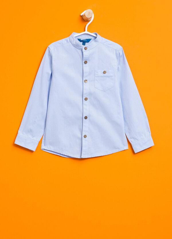 Camicia in puro cotone con taschino | OVS