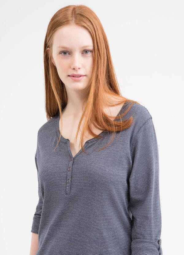 T-shirt puro cotone Curvy | OVS