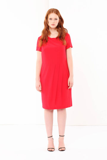 Curvyglam midi dress, Dark Red, hi-res