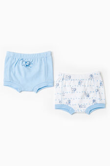 The Aristocats two-pack cotton briefs, Light Blue, hi-res
