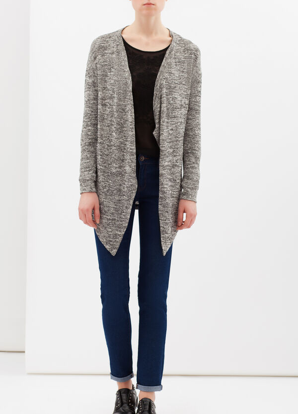 Buttonless cotton cardigan | OVS
