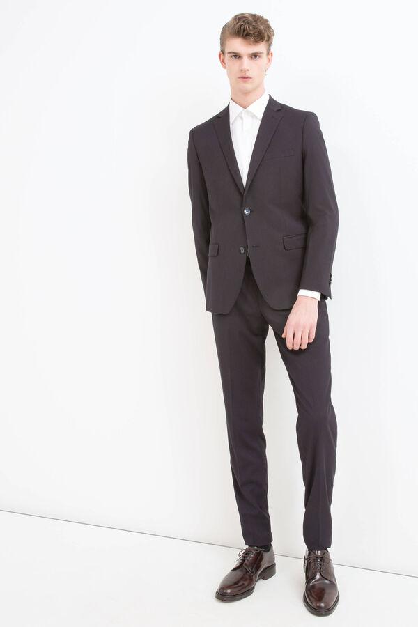 Elegant, slim-fit suit in viscose blend | OVS