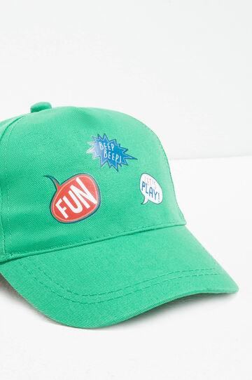 Cappello da baseball stampa lettering