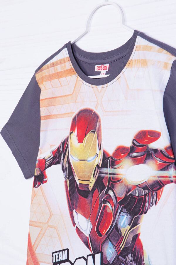 100% cotton T-shirt with Iron Man print | OVS