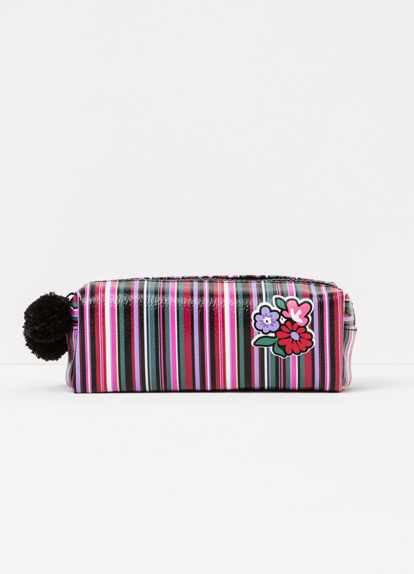 Textured case with pompom | OVS