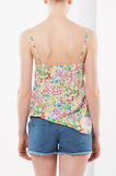 Multi-colour top with lace, Multicolour, hi-res