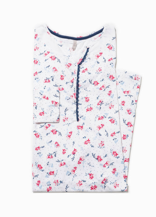 Nightdress with all-over print | OVS