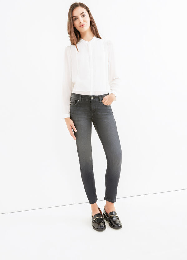 Skinny fit stretch ankle jeans | OVS