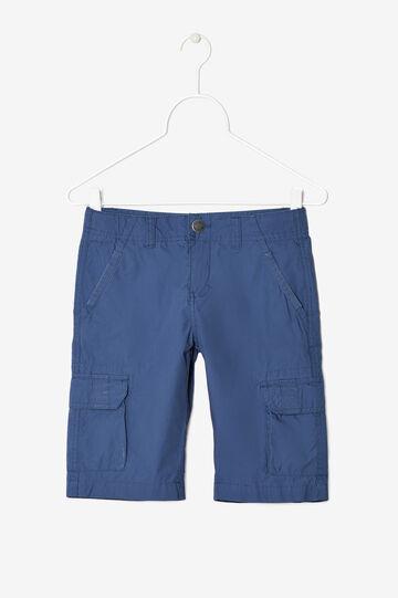 6-pocket Bermuda shorts, Soft Blue, hi-res