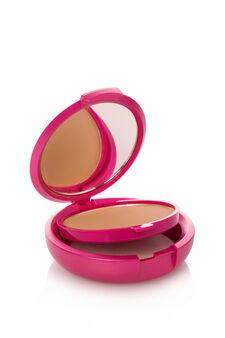 Fondotinta compatto effetto polvere. Coprente come una crema, setoso come una polvere e pratico come un compatto. Con specchietto e spugnetta., Honey yellow, hi-res