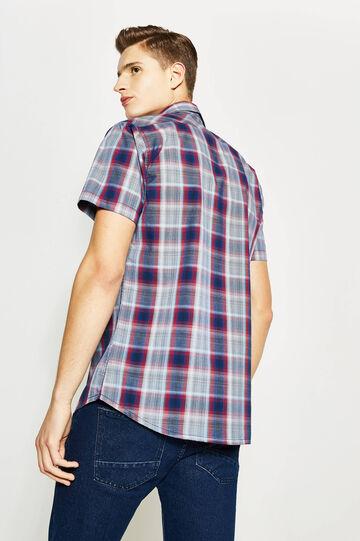 G&H tartan poplin casual shirt