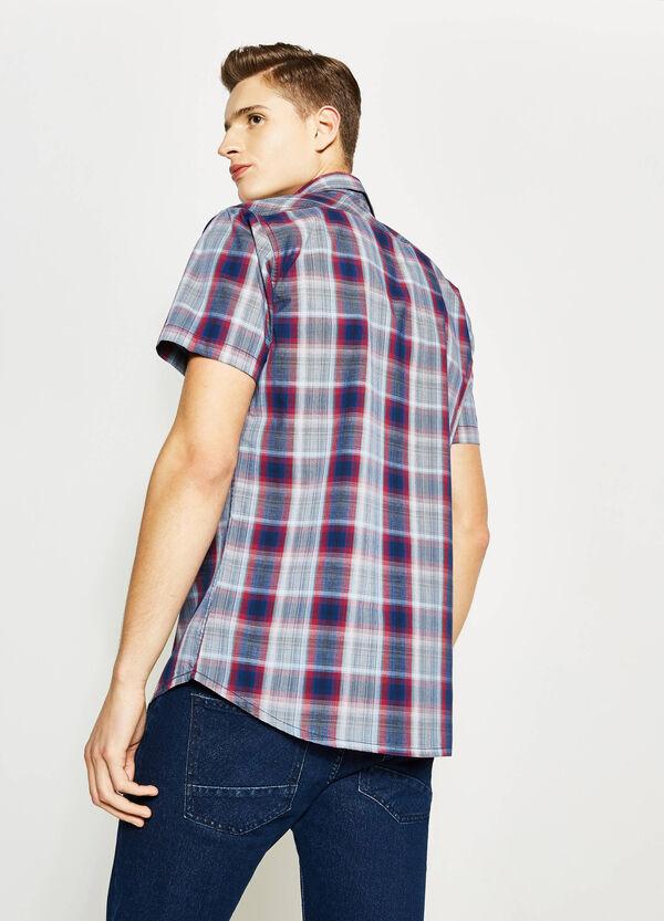 Camicia casual in popeline tartan G&H | OVS
