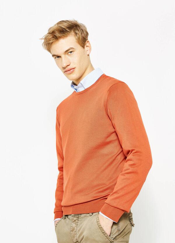 Jersey en algodón 100% en color liso | OVS