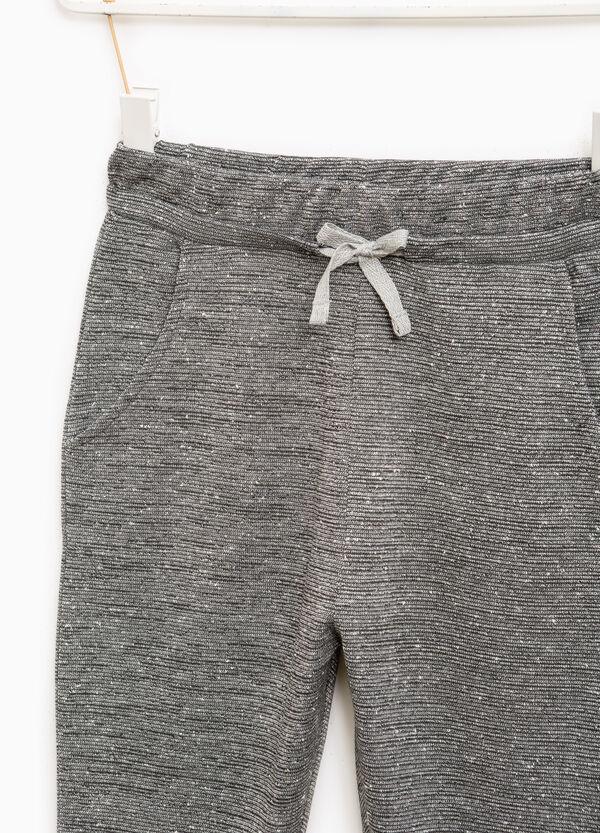 Pantaloni con lurex tinta unita | OVS
