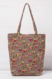 Shopping bag fantasia, Grigio, hi-res