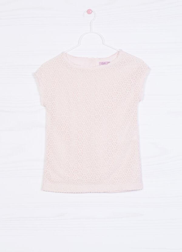 T-shirt stretch tinta unita | OVS