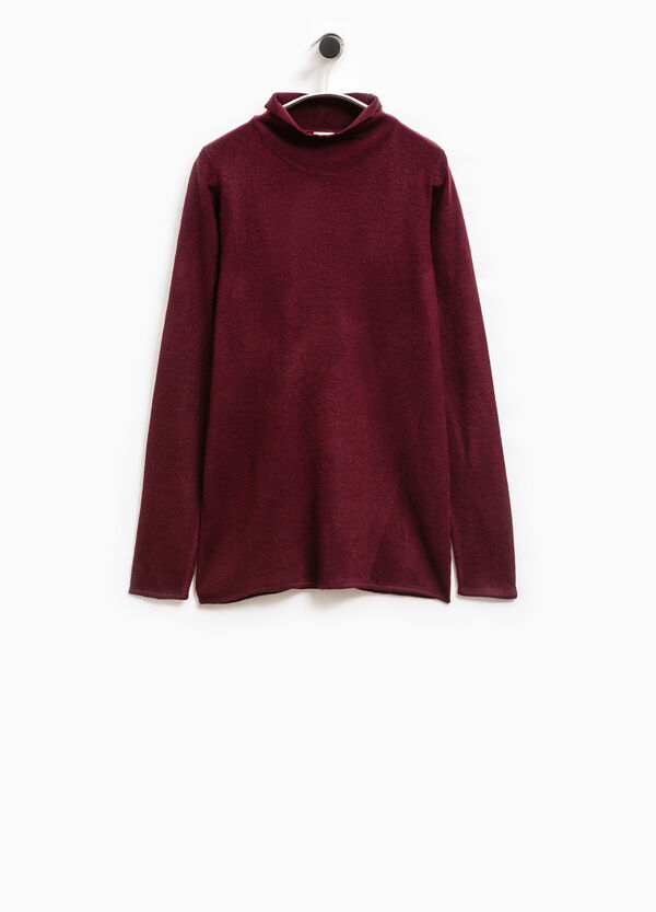 Smart Basic T-shirt with high neck | OVS