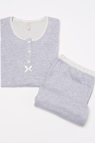 Printed pyjamas with bow