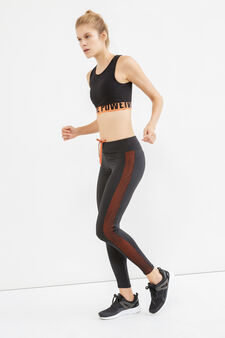 OVS Active Sport Training leggings, Black, hi-res