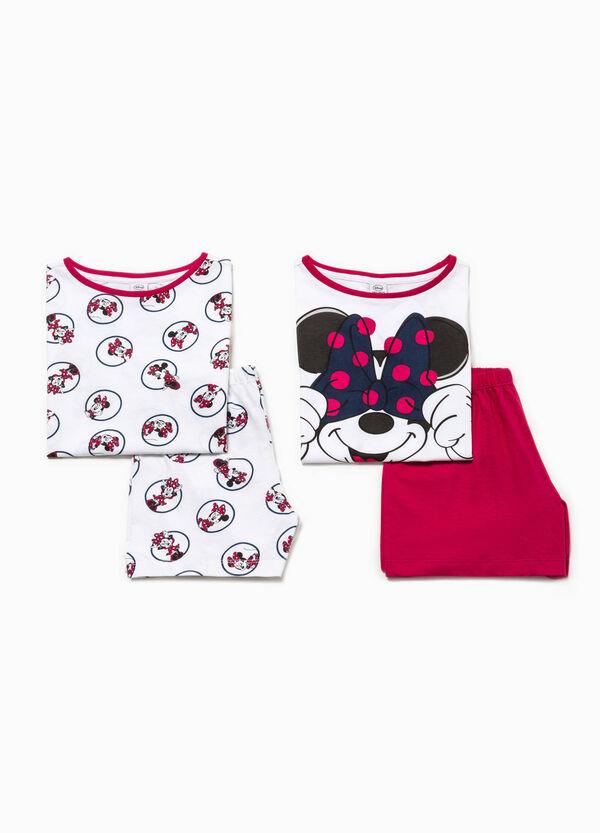 Pack de dos pijamas 100% Biocotton de Minnie | OVS