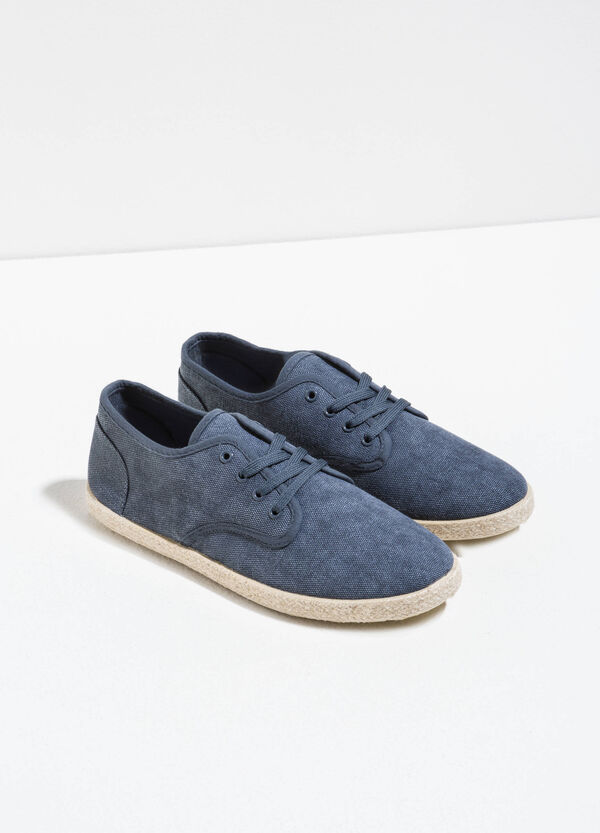 Sneakers with canvas uppers | OVS