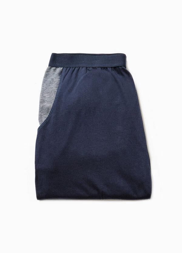 Pantaloni pigiama in cotone con tasche | OVS