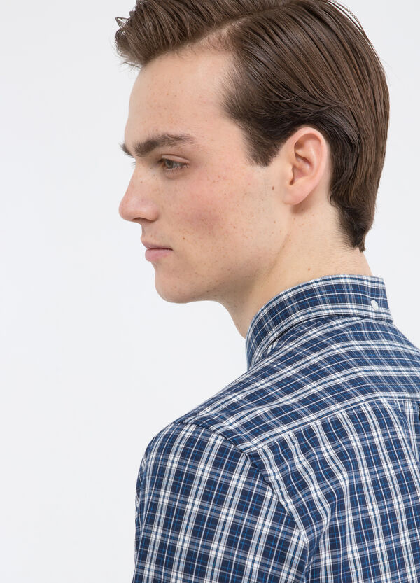 Tartan cotton shirt | OVS