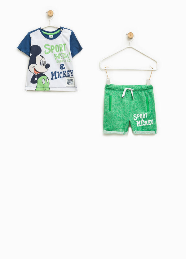 Mickey Mouse T-shirt and shorts set | OVS
