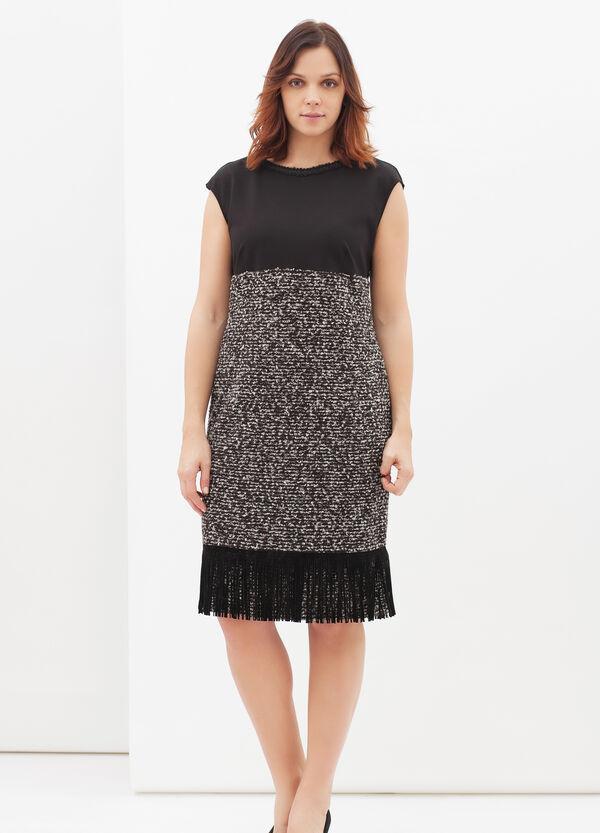 Curvyglam stretch dress with fringe | OVS