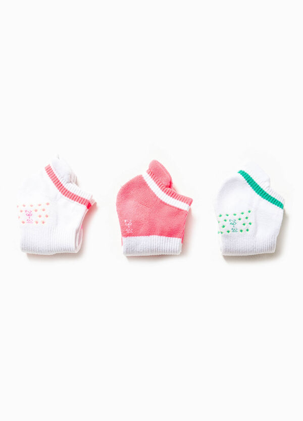 Three-pack stretch cotton socks | OVS
