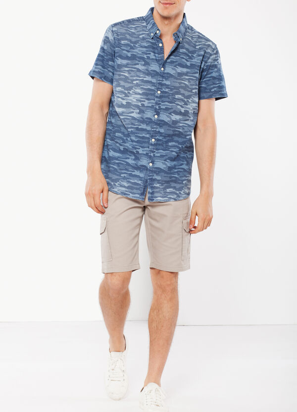Camicia denim camouflage G&H   OVS