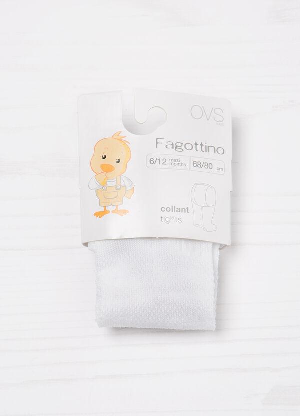 Collant misto cotone tinta unita | OVS