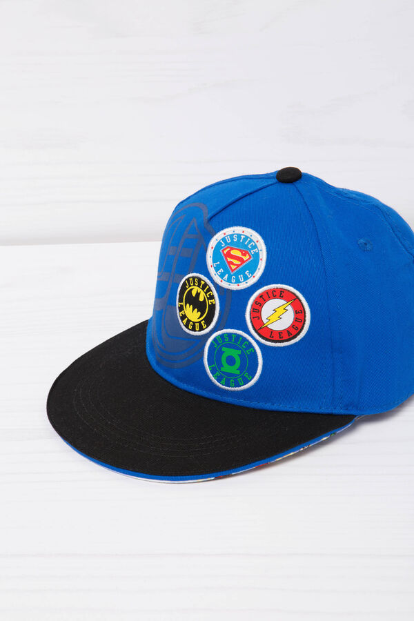 Baseball cap with superhero print | OVS