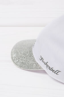 Baseball hat with glitter and print, Pink, hi-res