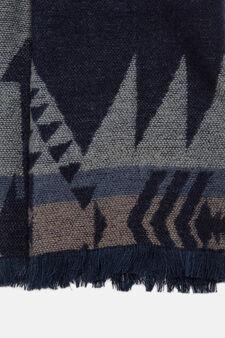 Fantasy scarf, Blue, hi-res