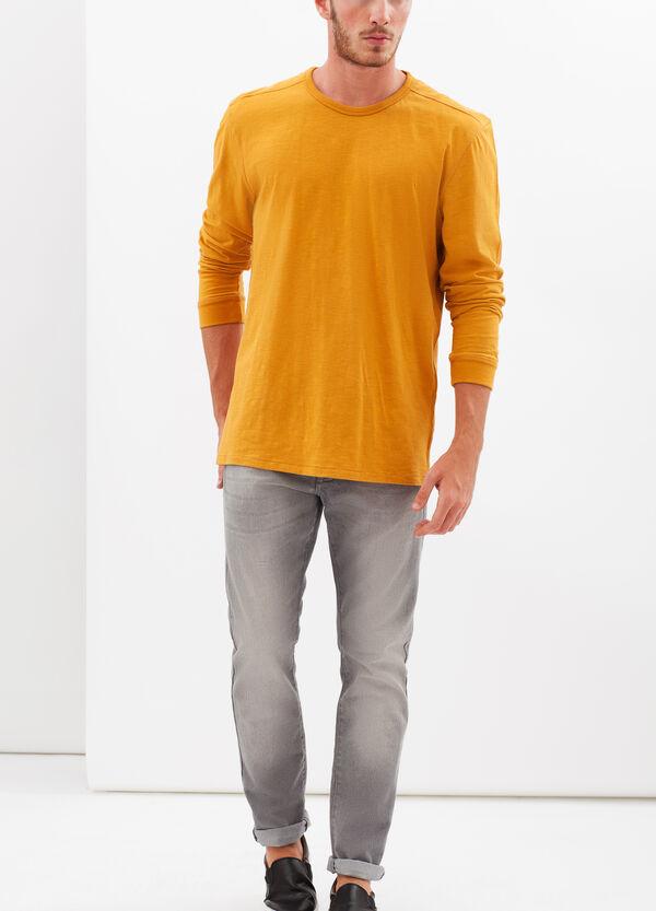 T-shirt tinta unita G&H maniche lunghe | OVS