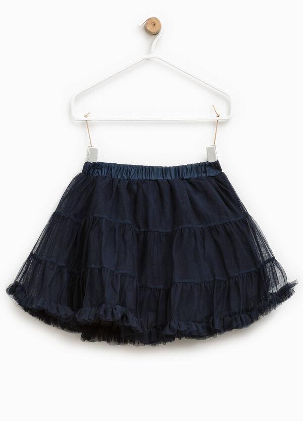 Tulle skirt with peplum hem | OVS