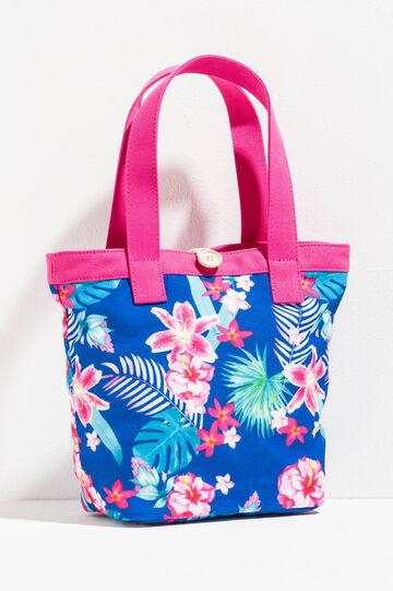 Shopping bag fantasia floreale, Multicolor, hi-res