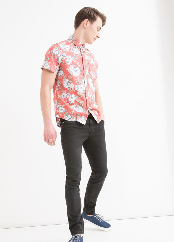 Camicia cotone con stampa G&H | OVS