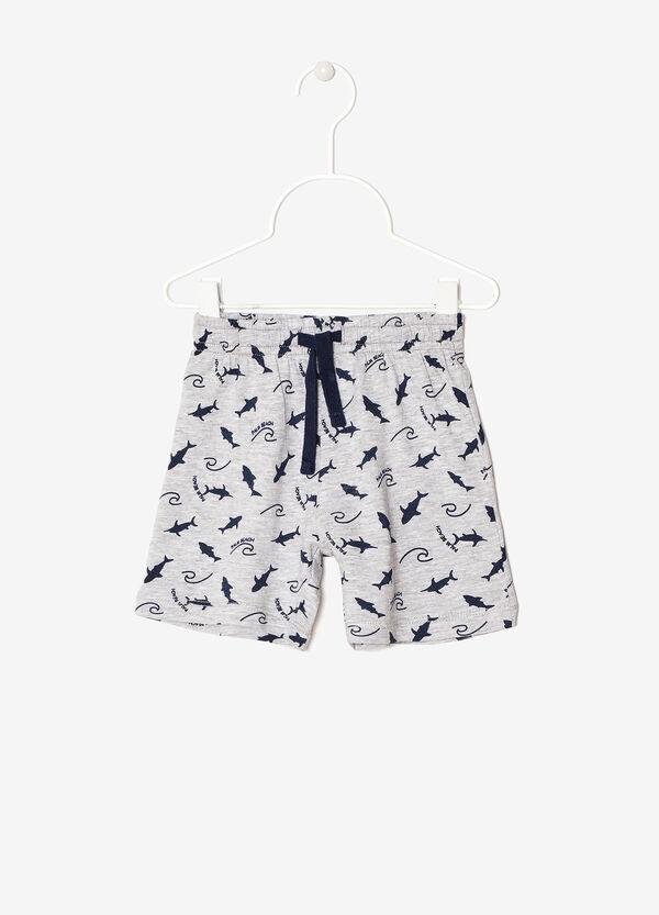 Pantaloncini cotone fantasia | OVS