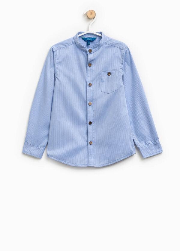 100% cotton striped shirt | OVS