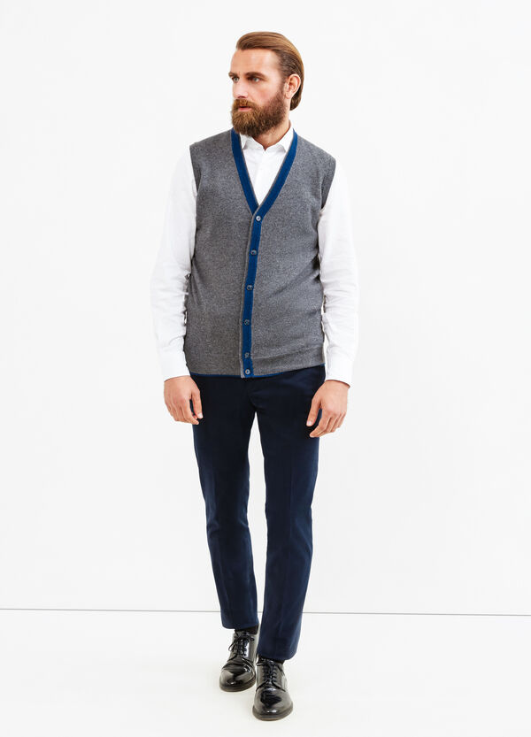 Rumford wool and cashmere waistcoat | OVS