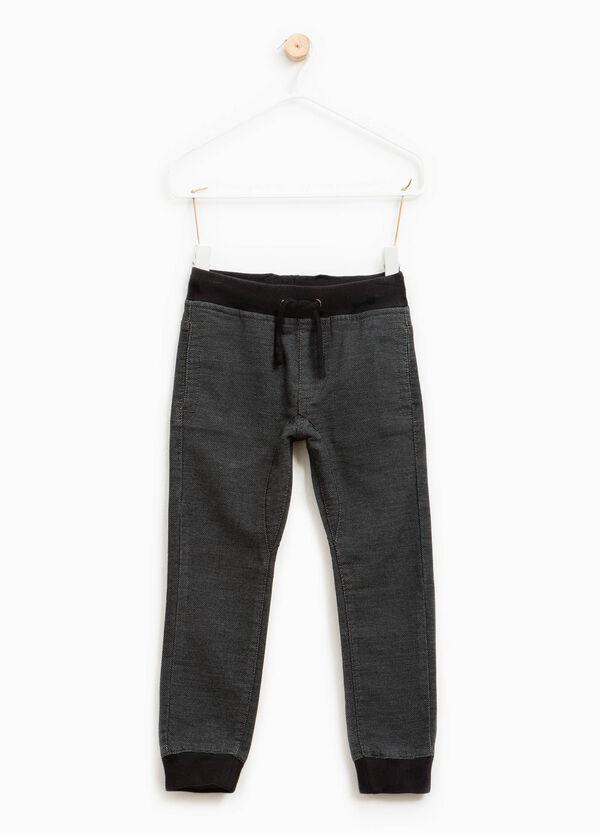 Pantalón de chándal con canalé | OVS