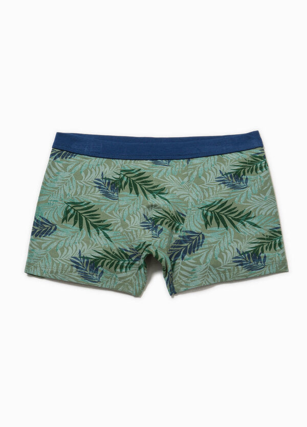 Biocotton boxers with floral pattern | OVS