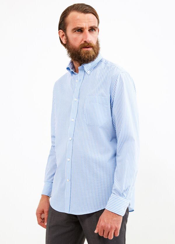 Regular-fit formal striped shirt | OVS